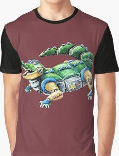 Chomp The Robo-Gator Graphic T-Shirt