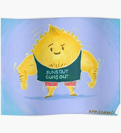 Suns out Guns out Poster