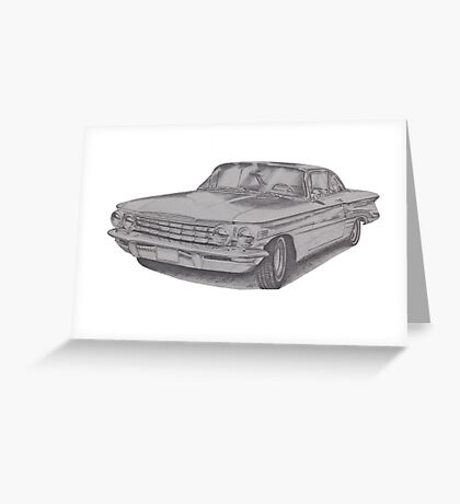 Oldsmobile Super 88 Greeting Card