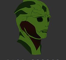 Mass Effect Thane Krios Minimalist by quidvis