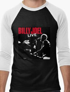 billy joel live black night Men's Baseball ¾ T-Shirt