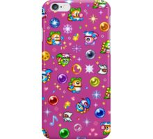 Bubble Bobble - Pink iPhone Case/Skin