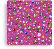 Bubble Bobble - Pink Canvas Print