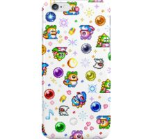 Bubble Bobble - White iPhone Case/Skin
