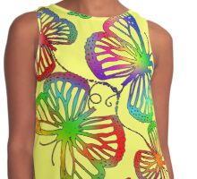 I got the butterflies Contrast Tank