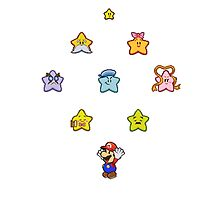 Paper Mario and the Star Spirits by skywalkerP