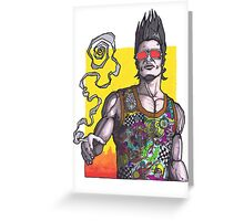 Fight Club #2 *69 dude Greeting Card
