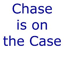 Chase is on the case Photographic Print