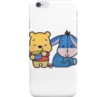 Baby Eeyore And Winnie The Pooh iPhone Case/Skin