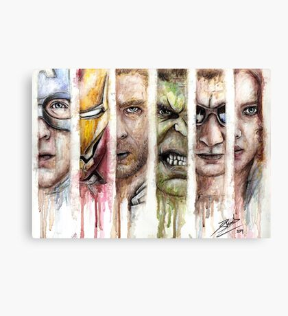The Avengers Canvas Print