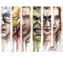 The Avengers Photographic Print