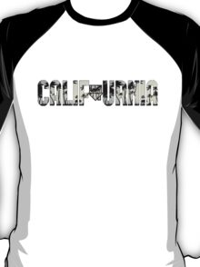 CALIFOURNIA The Neighbourhood Logo Print Palm Trees T-Shirt