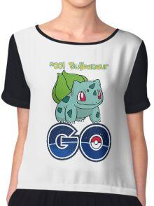 #001 Bulbasaur GO! Chiffon Top