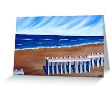 Beach Entry.......... Greeting Card