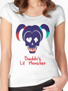 Lil Monster Women's Fitted Scoop T-Shirt