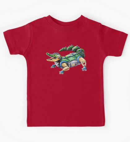 Chomp The Robo-Gator Kids Tee