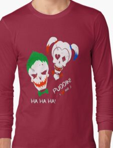 Harley , Joker Long Sleeve T-Shirt