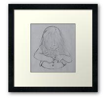 Omphaloskepsis Framed Print