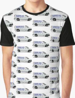 HAWKINS POWER AND LIGHT VAN - stranger things Graphic T-Shirt