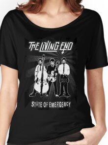 The Living End (State of Emergency) Women's Relaxed Fit T-Shirt