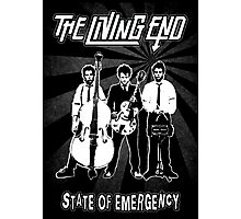 The Living End (State of Emergency) Photographic Print