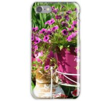 On My Patio iPhone Case/Skin