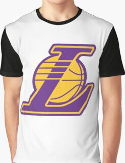 Los Angeles Lakers logo Graphic T-Shirt