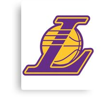 Los Angeles Lakers logo Canvas Print