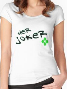 Her Joker Women's Fitted Scoop T-Shirt