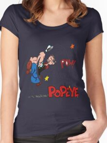 popeye Women's Fitted Scoop T-Shirt