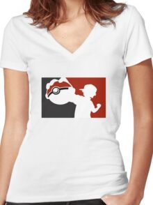 This is My PokeBall Women's Fitted V-Neck T-Shirt