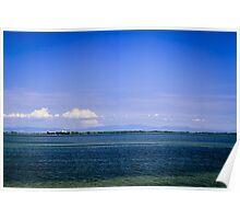 The lagoon of Grado Poster