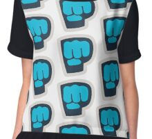 Pew Die Pie Bro Fist - Clothing, Accesories Chiffon Top