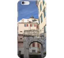 The Richard's Arch in Trieste iPhone Case/Skin
