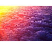 Sunrise 40,000 ft high Photographic Print