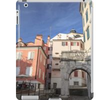 The Richard's Arch in Trieste iPad Case/Skin