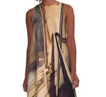 Hauntings A-Line Dress