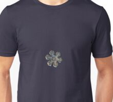 Snowflake photo - Massive gold Unisex T-Shirt