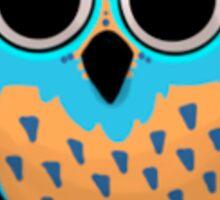 Mexican Owl Design 01 Sticker
