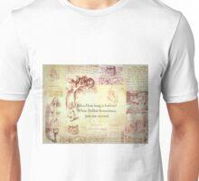 How long is forever? Alice in Wonderland Unisex T-Shirt