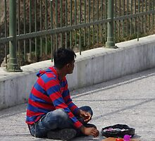 Immigrant-Street Vendor 3 by Francis Drake
