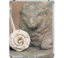 Lamb and Rose iPad Case/Skin
