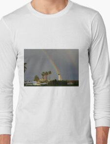 Rainbow & Stratosphere Tower Long Sleeve T-Shirt