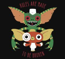 Rules Are Made To Be Broken Baby Tee