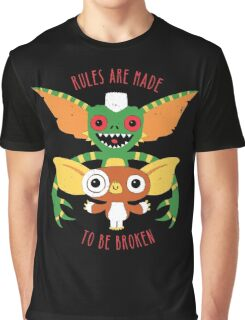 Rules Are Made To Be Broken Graphic T-Shirt