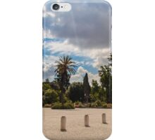 palms in the Pincio Garden in Rome iPhone Case/Skin