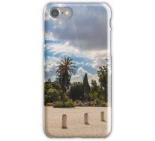 palms in the Pincio Garden in Rome iPhone Case/Skin