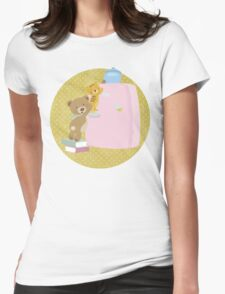 We love biscuits Womens Fitted T-Shirt