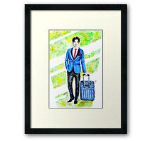 Business Man Framed Print