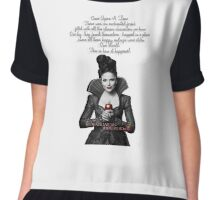 Evil Regal Once upon a time Chiffon Top